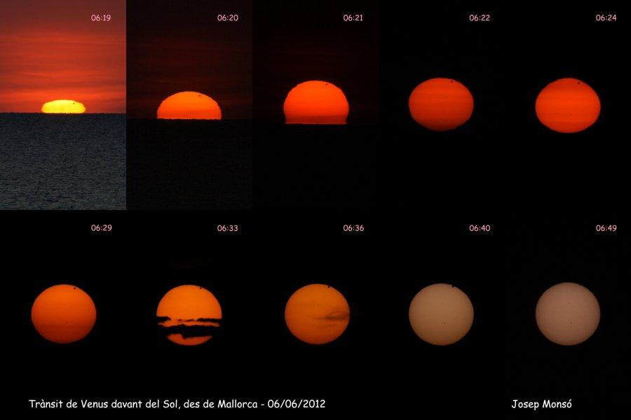 Trànsit de Venus davant del Sol - 06/06/2012