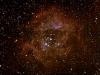 ngc2237 nebulosa Rosetta i ngc2244 cúmul obert a Monoceros