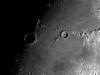 Lluna de 8,8 dies, zona cràters