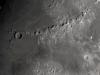 Lluna de 8,8 dies, cràter