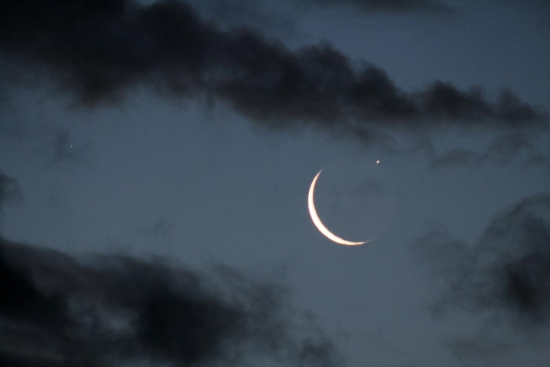 Ocultació Saturn per la Lluna.  - 2/02/2019 7:27 LT